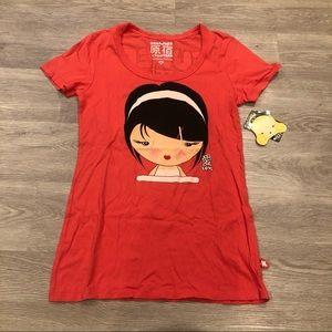 Harajuku Lovers Short Sleeve T-Shirt NWT Sz M